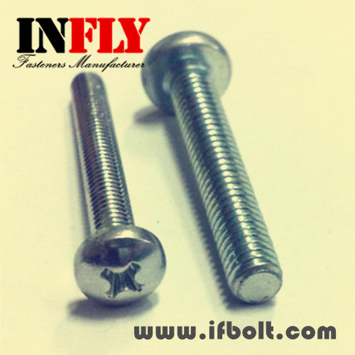 Phillips pan head machine screw ISO 7045