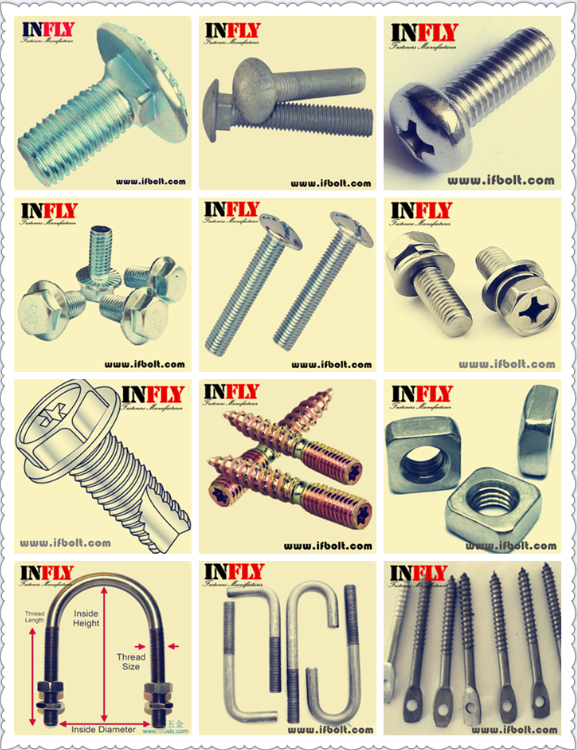 Infly Fasteners manufacturer product's list